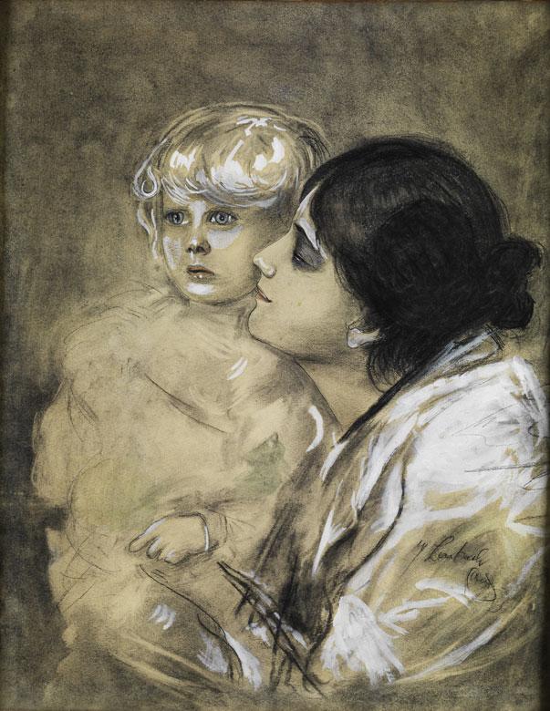 Kopist des 20. Jahrhunderts, Im Stil des Malers Franz von Lenbach.