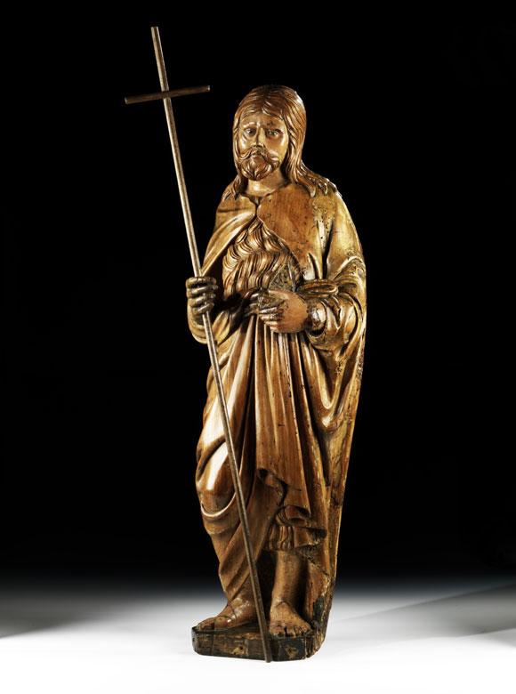 Standfigur des Heiligen Johannes Baptist