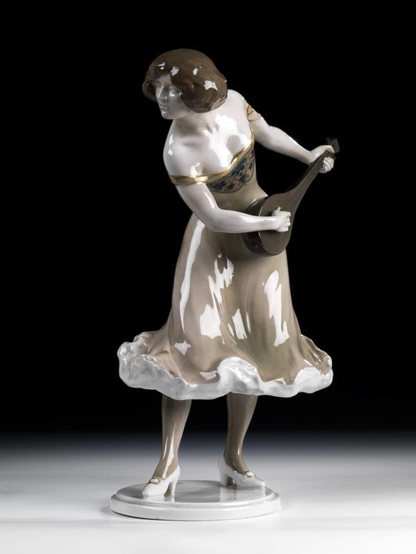 Rosenthal-Porzellanfigur von Rudolf Marcuse, 1878 - 1930
