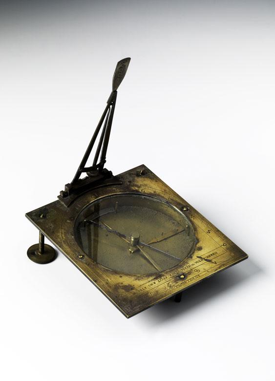 Sonnenuhr mit Kompass von Johann Anton Wiesenpeintner