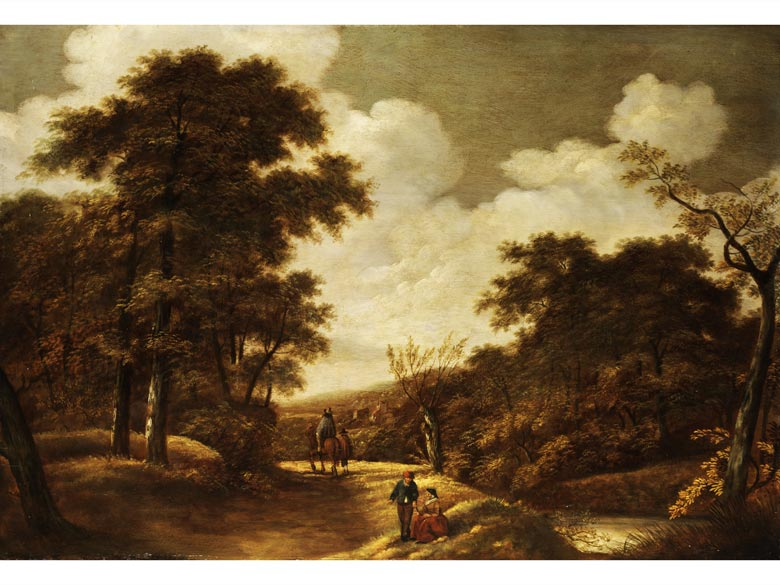 Andreas Schelfhout, zug., 1787 Den Haag - 1870 Den Haag