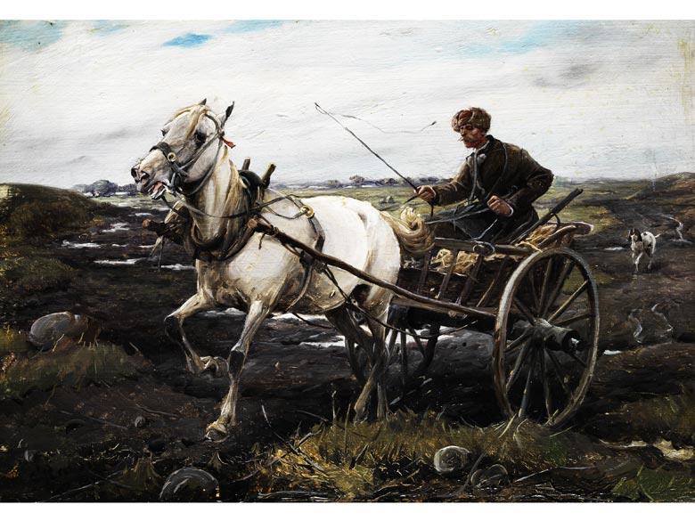 Alfred Von Wierusz Kowalski 1849 1915 Hampel Fine Art