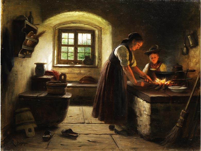 Rudolf Epp, 1834 Eberbach - 1910 München