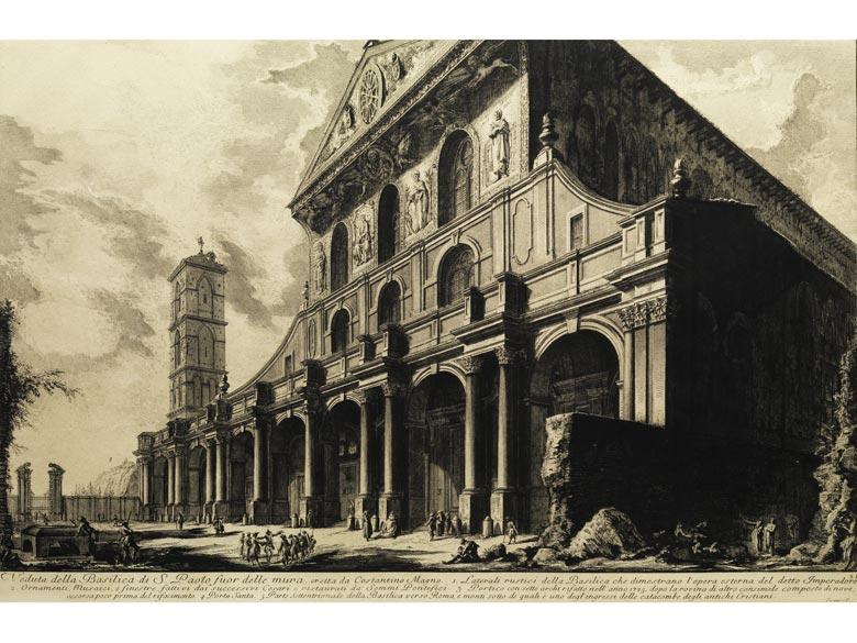 Giovanni Battista Piranesi, 1720 Rom - 1778 Rom