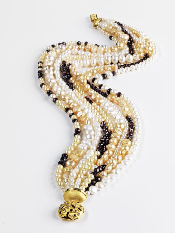 Großes Perlencollier