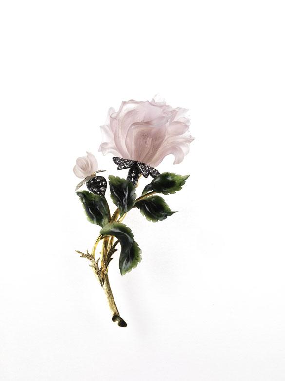 Große Rosenbrosche