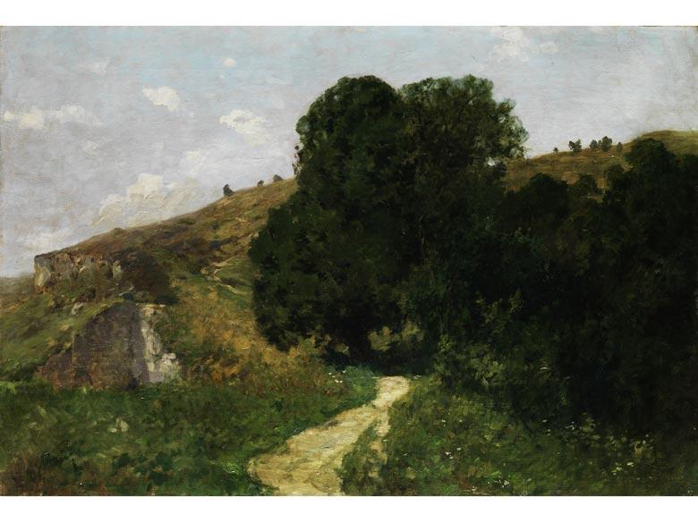Charmant Detailabbildung: Karl Albert Bauer, Münchner Maler Des 20. Jahrhunderts