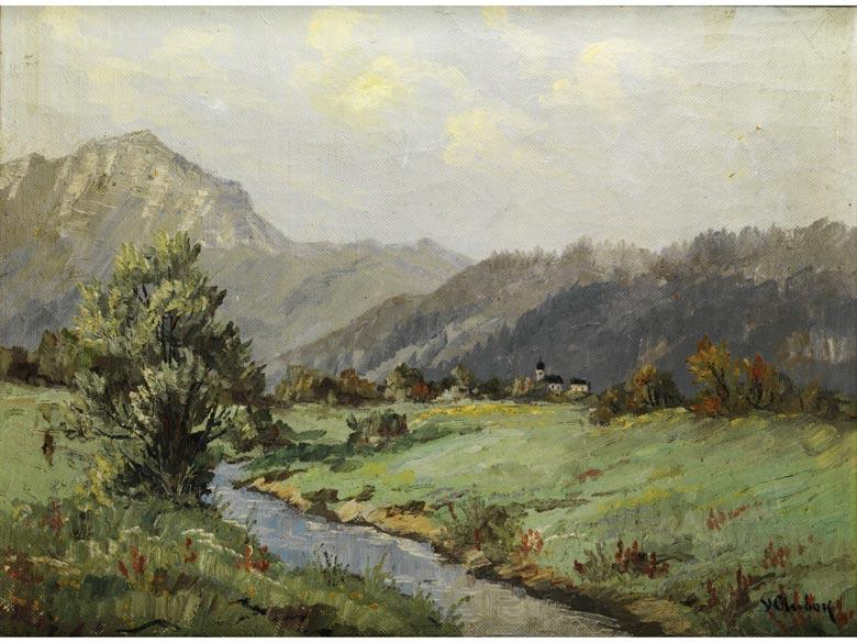 V. Andock, Maler des 20. Jahrhunderts.