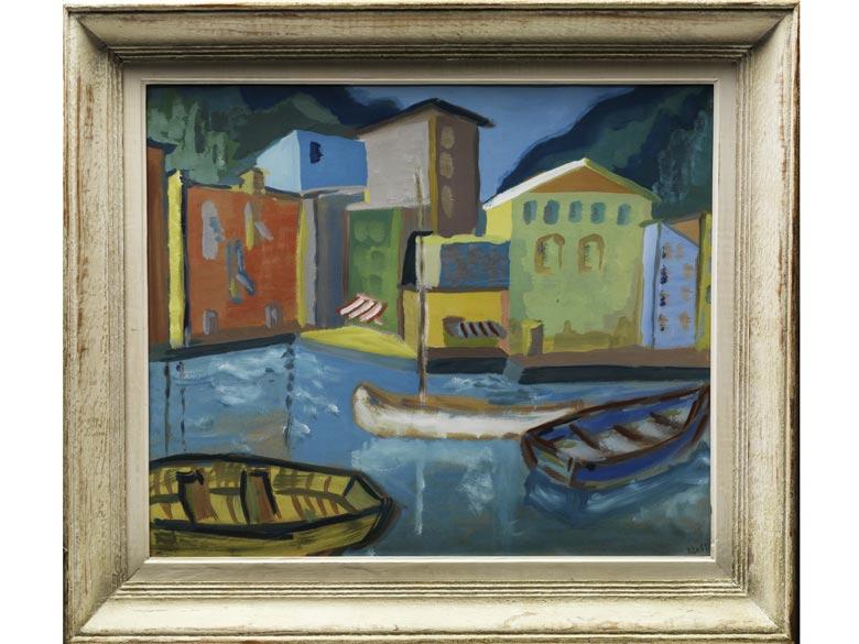 Ness, Maler des 20. Jahrhunderts.