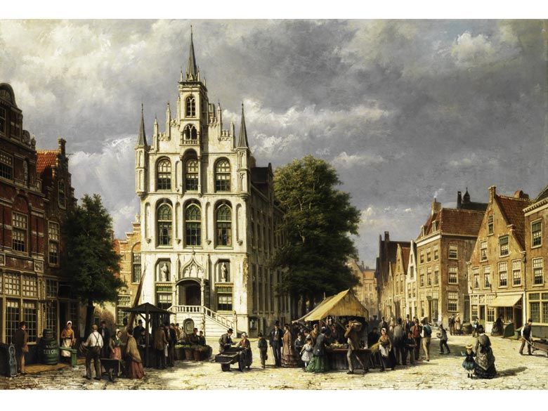 Willem Koekkoek, 1839 - 1890