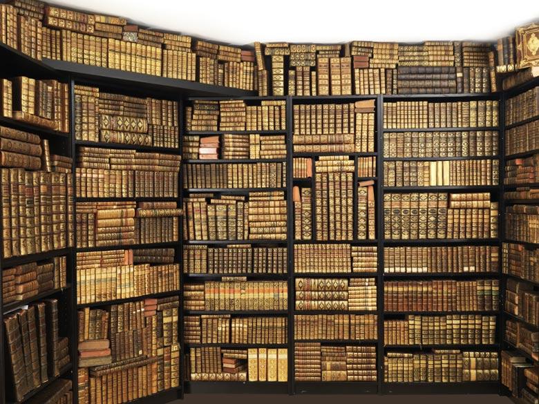 Großes Konvolut Bücher des 17. und 18. Jahrhunderts