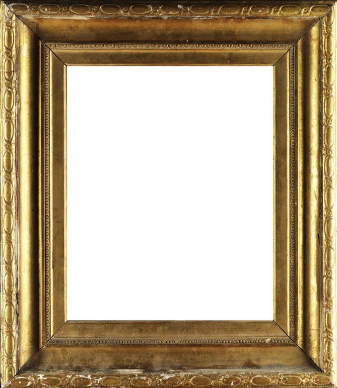 Vergoldeter Louis XVI-Rahmen