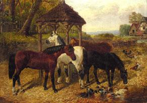 Detail images:  John Frederick Herring II., 1815 - 1907 London