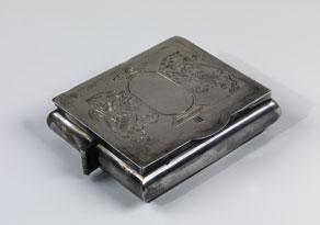 Detail images:  † Chanukka-Reiseleuchter in Silber