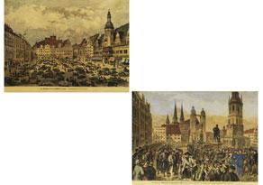 Detail images:  ZWEI STADTANSICHTEN