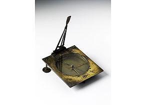 Detail images:  Sonnenuhr mit Kompass von Johann Anton Wiesenpeintner