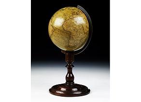 Detail images:  Newton's...terrestrial Globe/ London/ Fleet Street Temple Bay