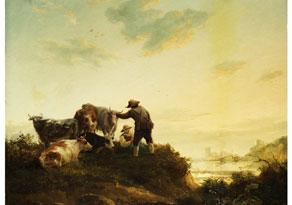 Abraham van Strij, 1753 Dordrecht - 1826 Dordrecht, zug.