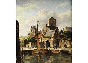 Adrianus Eversen,  1818 Amsterdam - 1897 Delft