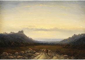 Johannes Franciscus Hoppenbrouwers,  1819 Den Haag - 1866 Den Haag