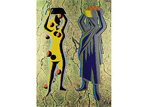 Detailabbildung:  Mark Kostabi, geb. 1960 Los Angeles