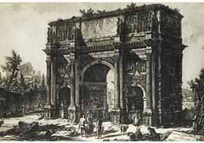 Detail images:  Giovanni Battista Piranesi, 1720 Rom - 1778 Rom