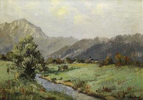 Detail images:  V. Andock, Maler des 20. Jahrhunderts.