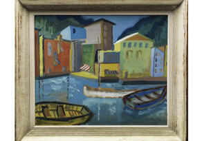 Detail images:  Ness, Maler des 20. Jahrhunderts.