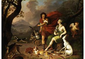 Johann Heinrich Tischbein,  1722 Haina - 1789 Kassel,  zug. / Umkreis des
