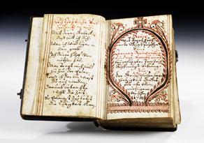 Detail images:  Handgeschriebenes Gebetbuch