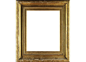 Detailabbildung:  Vergoldeter Louis XVI-Rahmen
