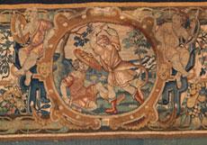 Detail images: Brüsseler Gobelin
