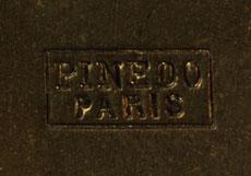 Detail images: Emil Pinédo, tätig Paris 1870 - 1905
