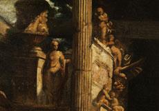 Detail images: Giovanni Paolo Pannini, 1692 Piacenza - 1765 Rom, Werkstatt/ Nachfolge des