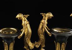 Detail images: † Paar russische Kaminziervasen