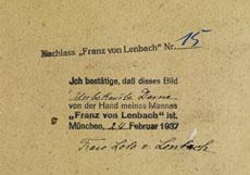 Detail images: Franz von Lenbach, 1836 Schrobenhausen - 1904 München