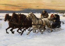 Detail images: Alfred von Wierusz-Kowalski, 1849 - 1915