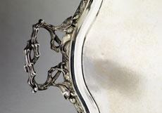 Detail images: Großes Silbertablett