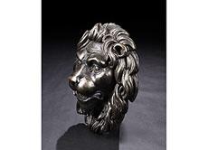 Detailabbildung: Brunnenmaske in Form eines Löwenkopfes