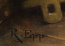 Detailabbildung: Rudolf Epp, 1834 Eberbach - 1910 München