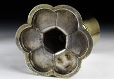 Detail images: Silberner, vergoldeter Messkelch mit Patena