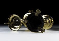 Detail images: Paar Renaissance-Kerzenstöcke