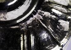 Detail images: Paar Kerzenständer in Silber
