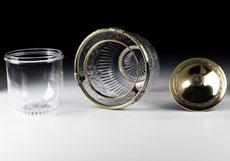 Detail images: Großer Kaviarbehälter