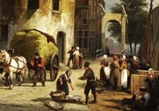 Detail images: Willem Koekkoek, 1839 - 1890