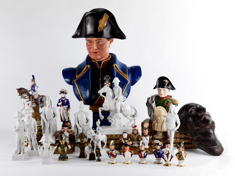 Konvolut von 29 Napoleonika