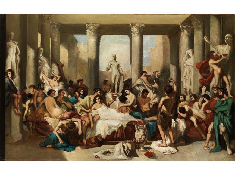Thomas Couture, 1815 Senlis - 1879 Villiers-le-Bel, Umkreis