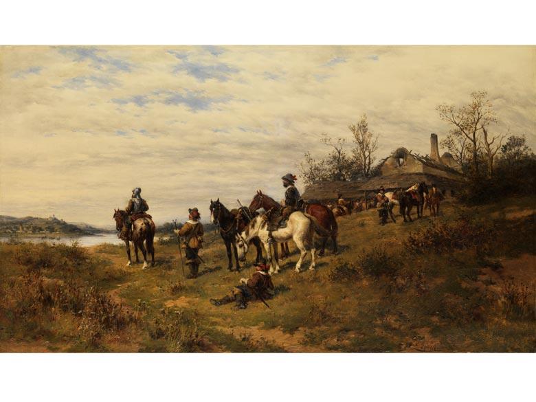 Ludwig Gedlek, 1847 Krakau - 1904