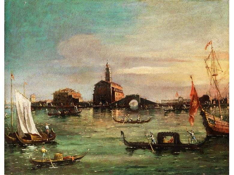 Francesco Zanin, tätig in Venedig in der zweiten Hälfte des 19. Jahrhunderts, dokumentiert in den Jahren 1851 - 1888
