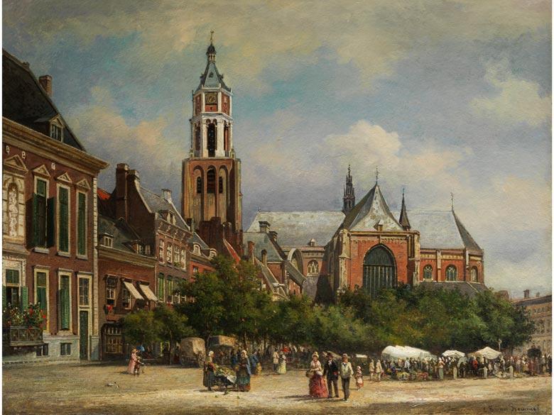 Elias Pieter van Bommel, 1819 Amsterdam - 1890 Wien